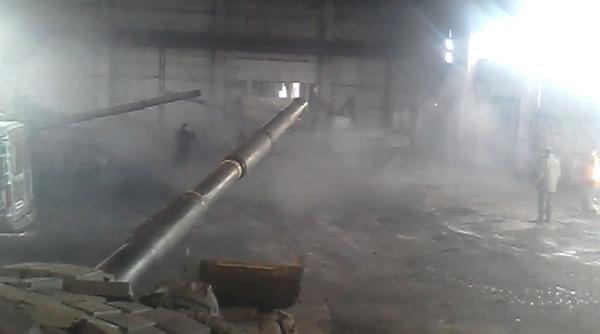 «Отведенные» танки боевиков нашлись в Макеевке (ВИДЕОФАКТ) (фото) - фото 1