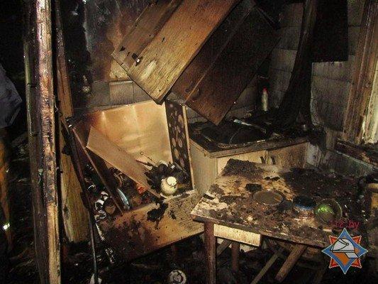 В Гродно на пожаре погиб 25-летний парень и его мать (фото) - фото 2