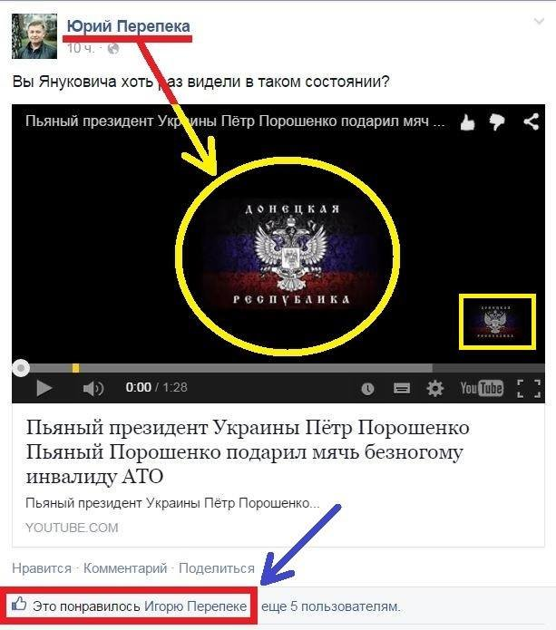 В Сумах депутат-регионал постит в соцсети пропагандистские ролики сепаратистов (СКРИН) (фото) - фото 1