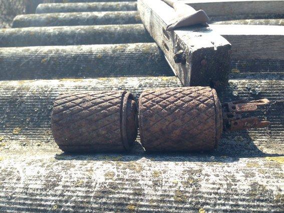 На Полтавщине любитель «травки» хранил дома гранаты (ФОТО) (фото) - фото 1
