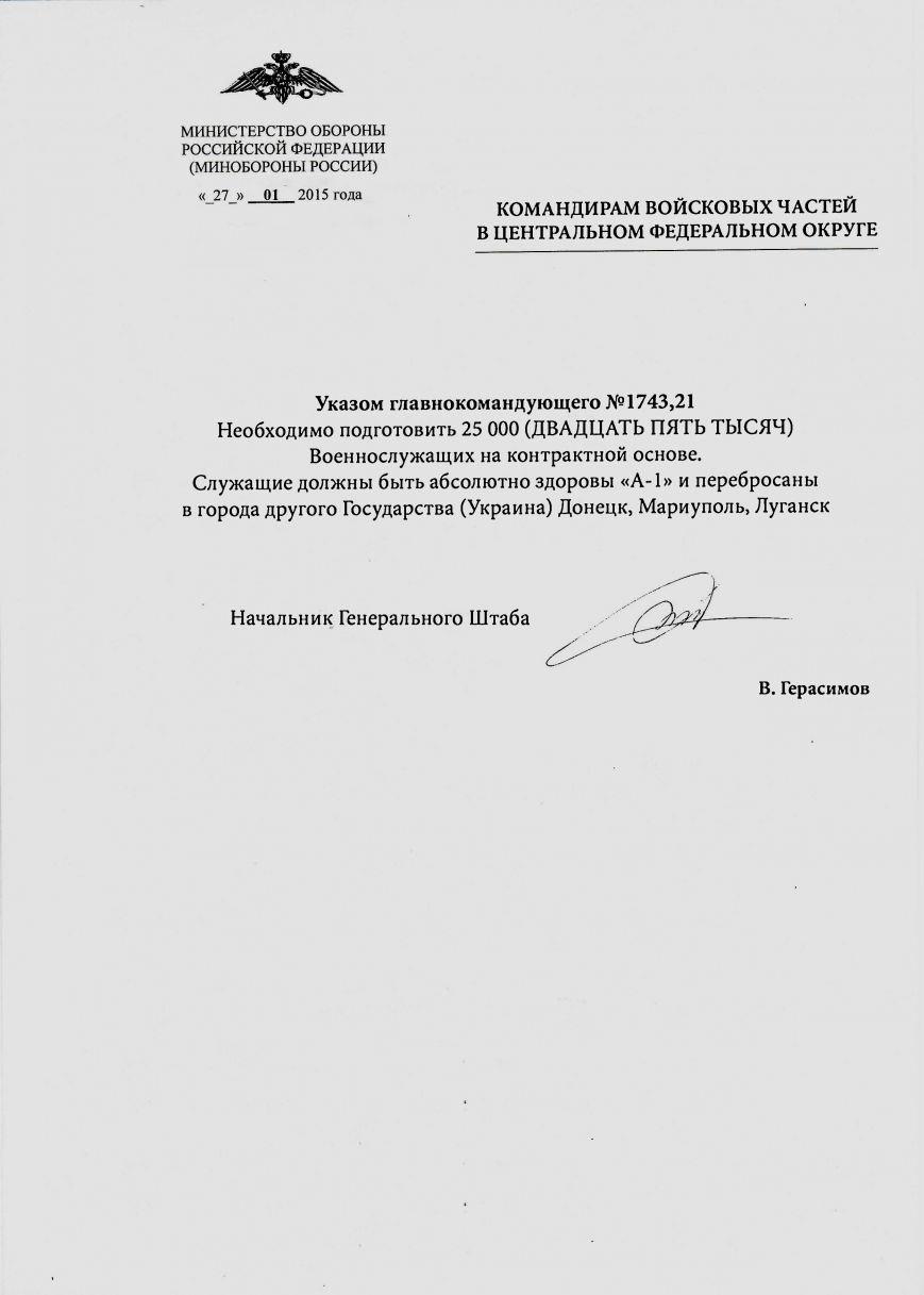 В Мариуполь, Луганск и Донецк перебросят 25 тысяч российских военных-контрактников? (ФОТО) (фото) - фото 1