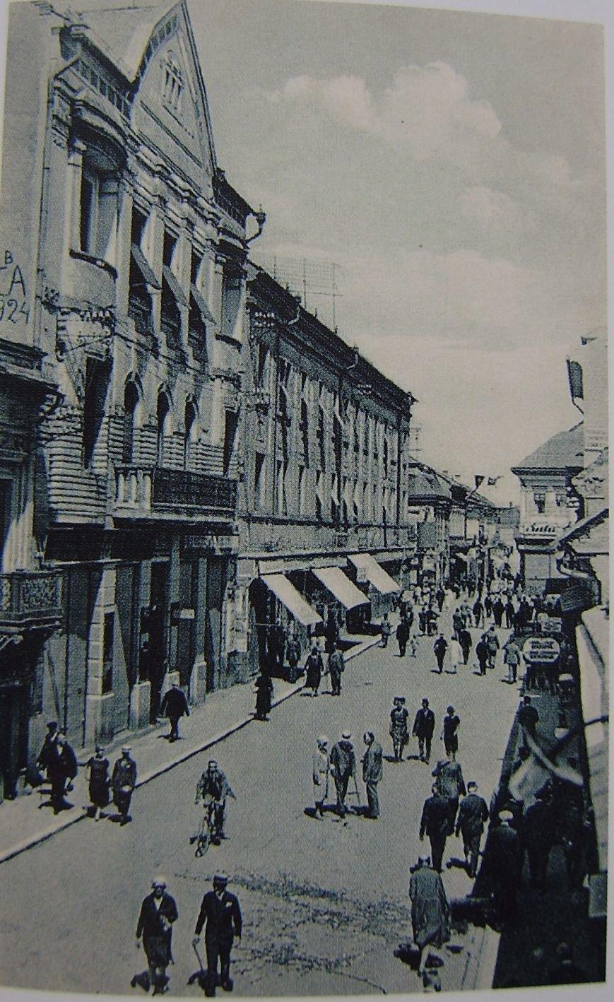 Як виглядала головна вулиця Ужгорода майже сто років тому (ФОТО) (фото) - фото 1
