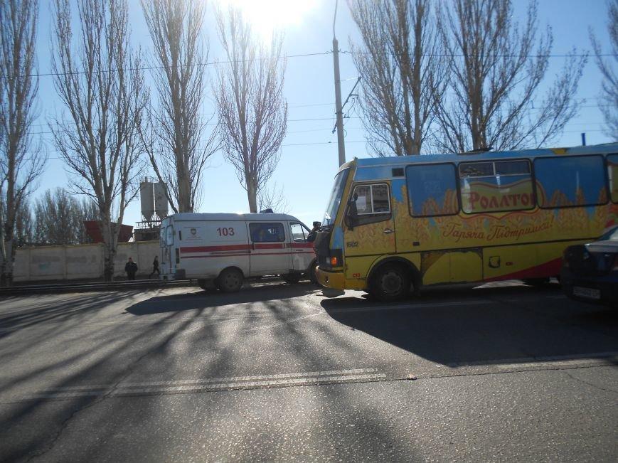 В Одессе на Пересыпи в ДТП попала скорая помощь (ФОТО) (фото) - фото 1