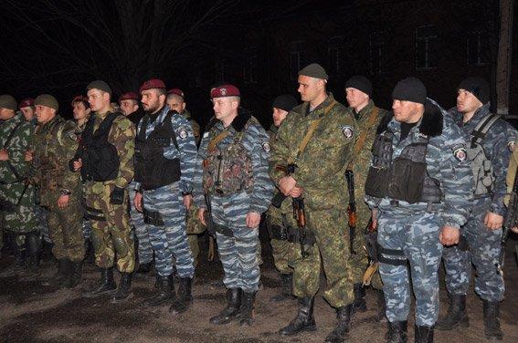 Николаевцы встретили спецназ, вернувшийся из зоны АТО (ФОТО, ВИДЕО) (фото) - фото 2