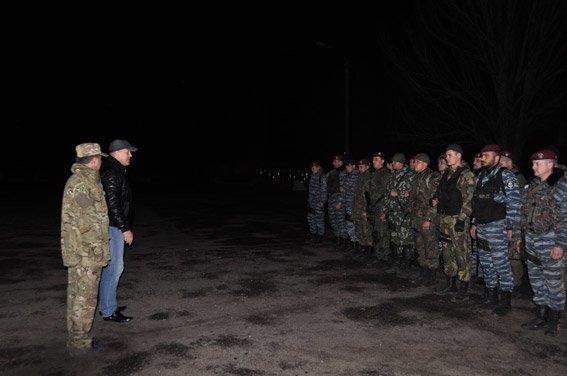 Николаевцы встретили спецназ, вернувшийся из зоны АТО (ФОТО, ВИДЕО) (фото) - фото 3