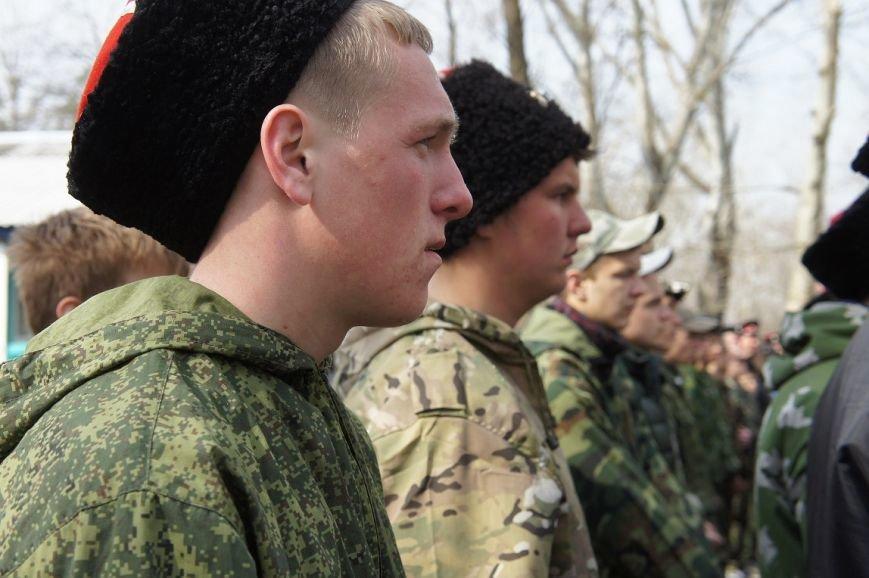 В лагере «Олимпиец» начались военно - полевые сборы казаков (фото) - фото 1