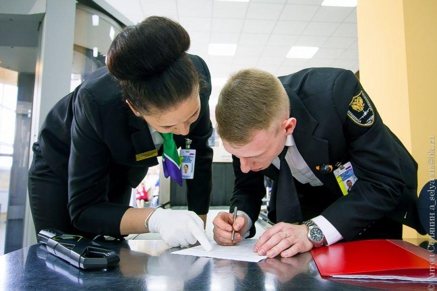 В колледже Московия Домодедово состоялся первый в России конкурс World Skills «Сервис на воздушном транспорте», фото-3