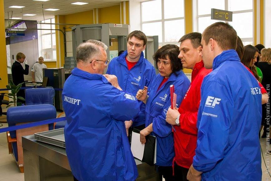 В колледже Московия Домодедово состоялся первый в России конкурс World Skills «Сервис на воздушном транспорте», фото-5