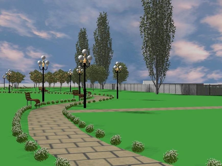 На новую  растительность в парке Гурова в Мариуполе потратят 70 тысяч гривен, фото-1