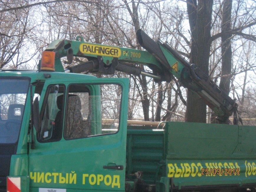 В Димитрове презентовали очередную спецтехнику по уборке мусора, фото-2