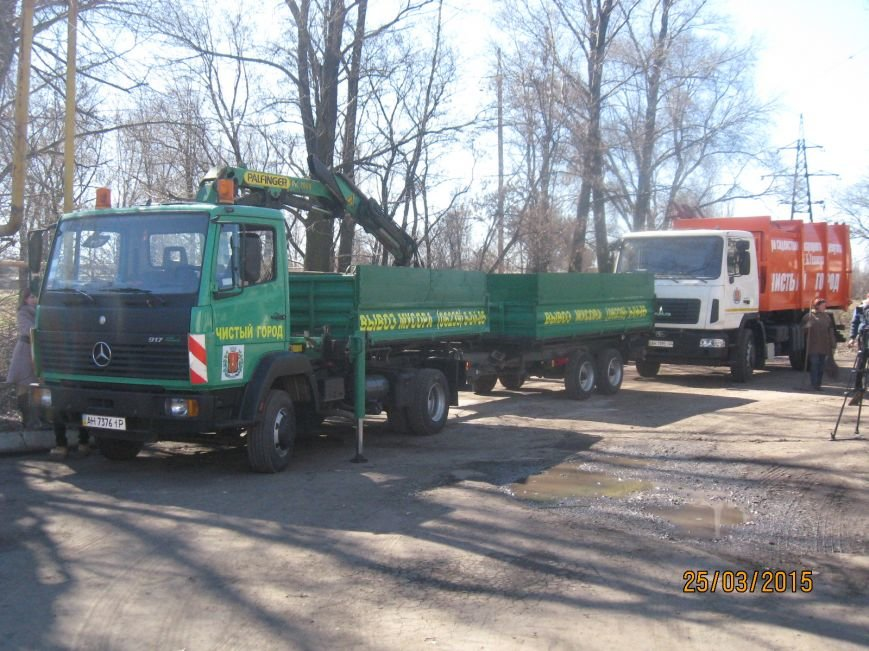 В Димитрове презентовали очередную спецтехнику по уборке мусора, фото-3