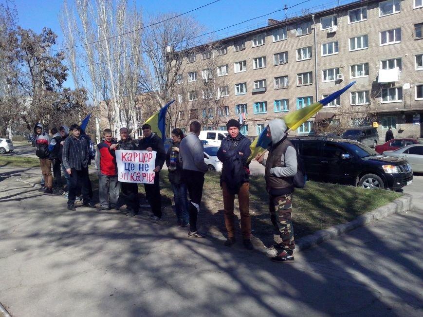 Митингующим под запорожской пенитенциаркой обещают встречу с главным тюремщиком (ФОТО), фото-2