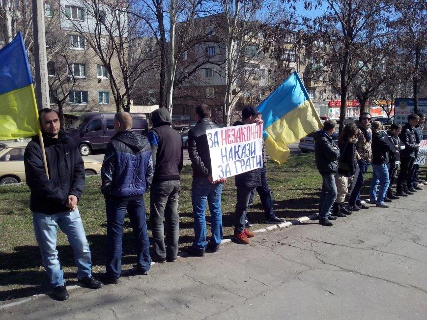 Митингующим под запорожской пенитенциаркой обещают встречу с главным тюремщиком (ФОТО), фото-1