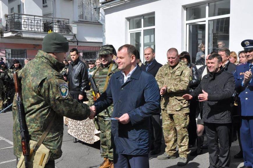 Чергова група полтавських правоохоронців вирушила в зону АТО (фото) - фото 1