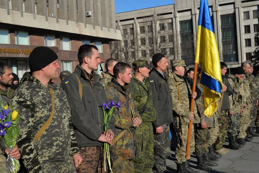 В Запорожье прибыли на демобилизацию бойцы 23-го батальона (ФОТОРЕПОРТАЖ), фото-6
