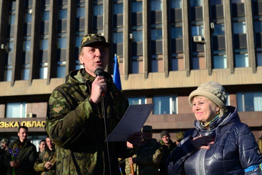 В Запорожье прибыли на демобилизацию бойцы 23-го батальона (ФОТОРЕПОРТАЖ), фото-7
