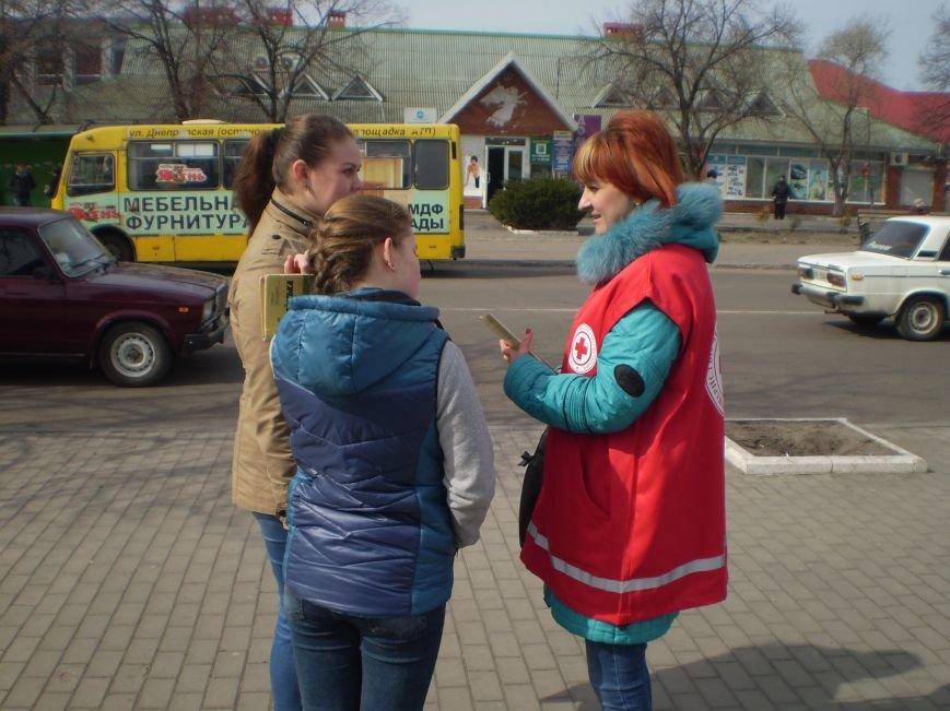 Медики вышли на улицы Павлограда, чтобы предупредить горожан об опасности заражения туберкулезом (фото) - фото 1
