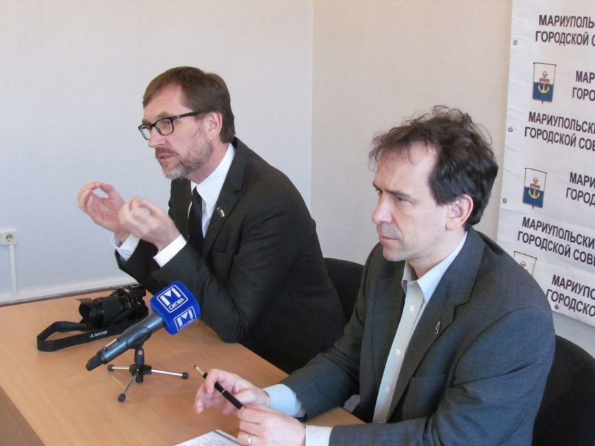 Представители ЕС приехали в Мариуполь, чтобы  «раздавать не рыбу, а удочки» (ФОТО), фото-1