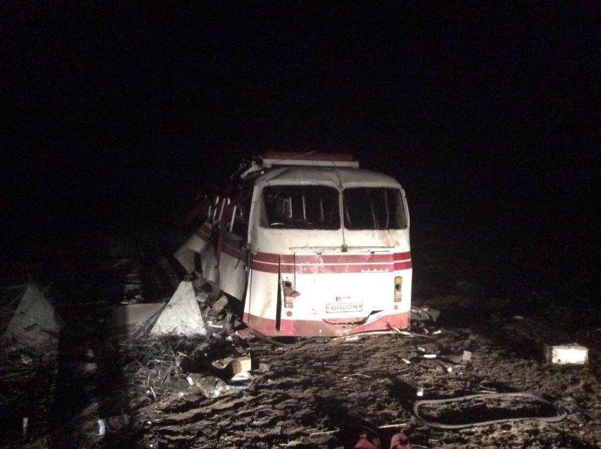 Под Артемовском на мине подорвался автобус (ФОТО), фото-3