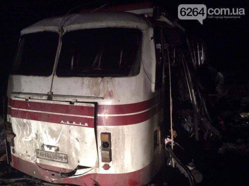 Под Артемовском на мине подорвался автобус (ФОТО) (фото) - фото 2
