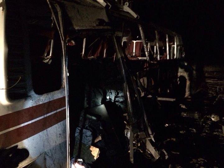 Боевики обстреляли автобус под Горловкой. Опубликован список пострадавших, фото-3