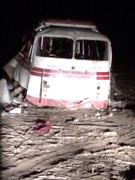 Боевики обстреляли автобус под Горловкой. Опубликован список пострадавших, фото-4