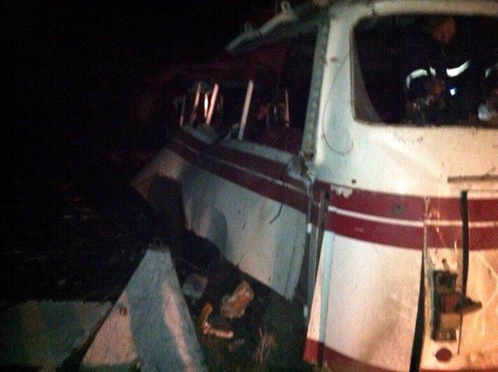 Боевики обстреляли автобус под Горловкой. Опубликован список пострадавших, фото-1