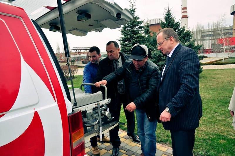 Атомщики Южноукраинской АЭС передали николаевским десантникам 3 автомобиля (ФОТО) (фото) - фото 3