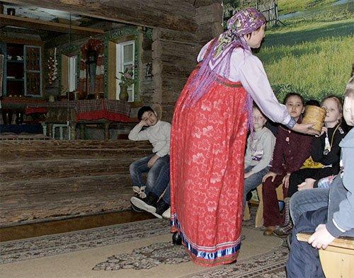 Рассказ о предметах быта русских крестьян