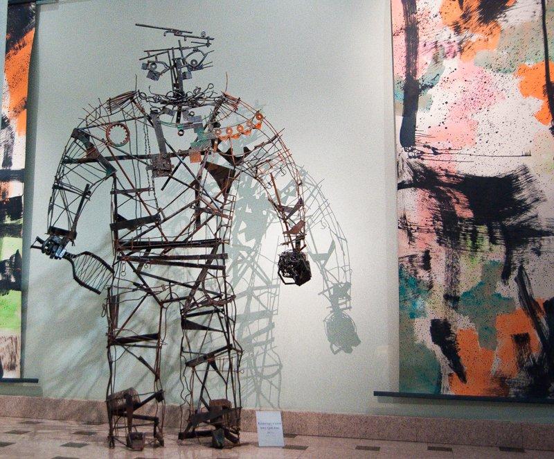 Скульптор Сергей Дементьев: «В этой никчёмности искусства происходят и ужасы, и события. И оно влияет, хотим мы или нет, на нашу жизнь» (фото) - фото 11