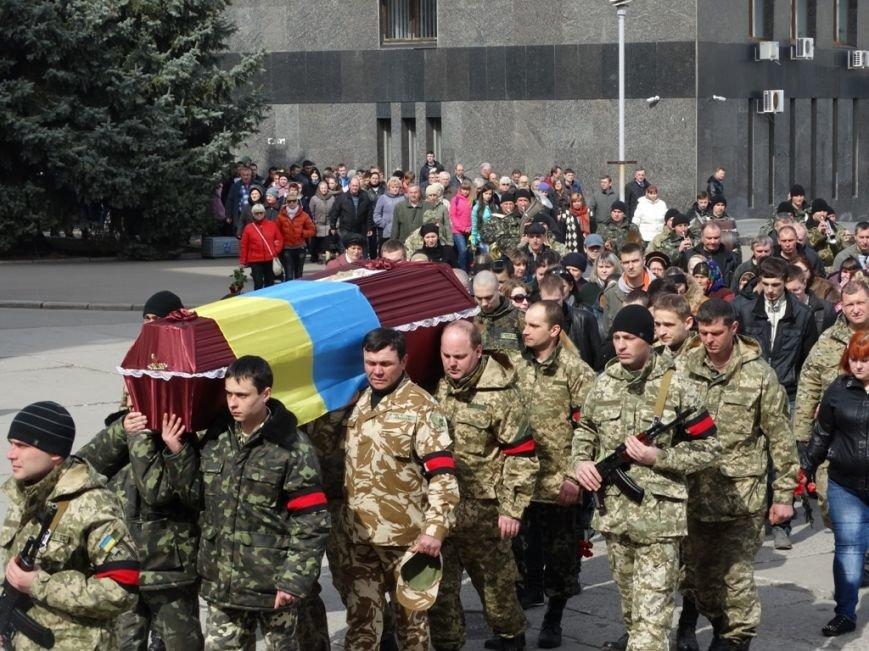 В Сумах перезахоронили погибшего полгода назад в АТО сумчанина (ФОТО), фото-8