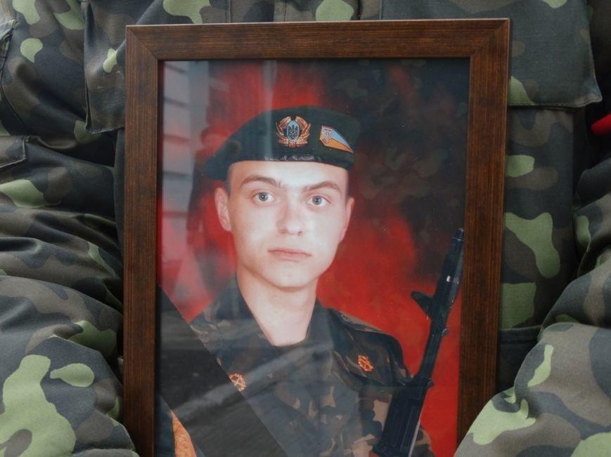 В Сумах перезахоронили погибшего полгода назад в АТО сумчанина (ФОТО), фото-1