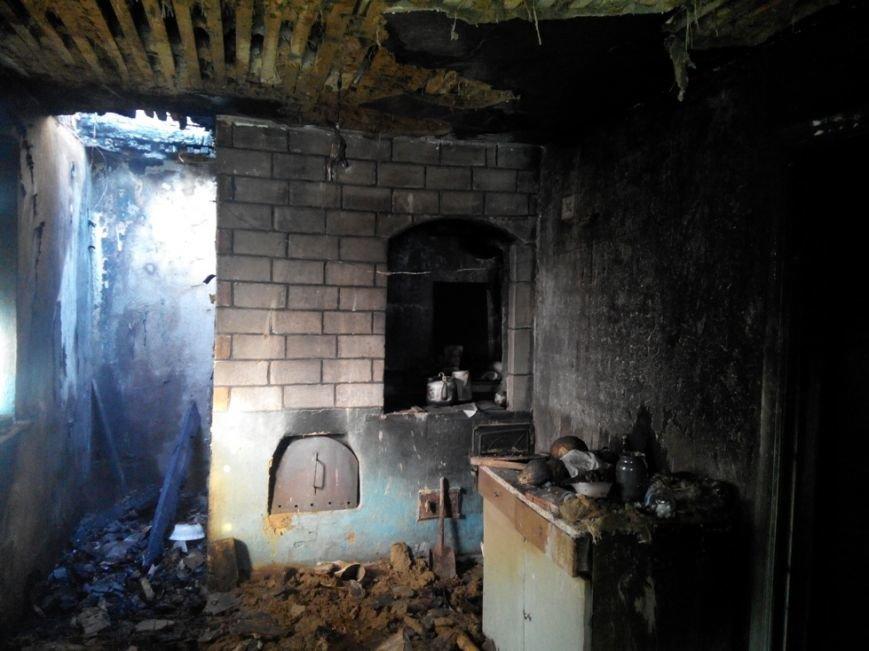 В Кировограде горел дачный дом (фото) - фото 1
