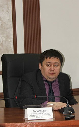 Руководитель Отдела ЖКХ Жандос Байырханов,
