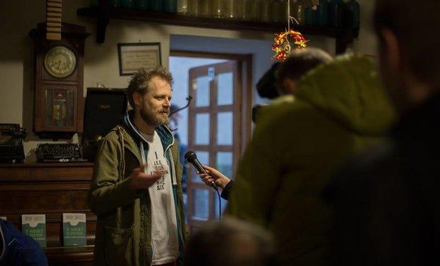В Ужгороді Bandy Шолтес презентував свою видану в Києві «T-SHIRTОЛОГІЮ» (ФОТО), фото-1