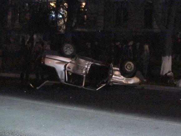 В Александрии перевернулась «Славута» - обошлось без жертв (фото) - фото 1