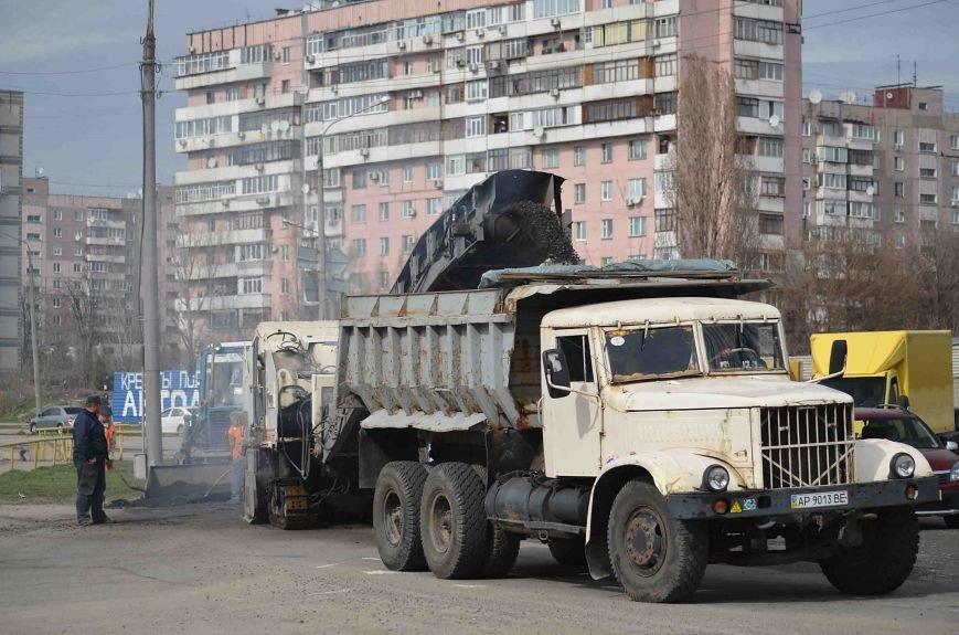 В Запорожье начался весенний ремонт дорог (ФОТО), фото-2