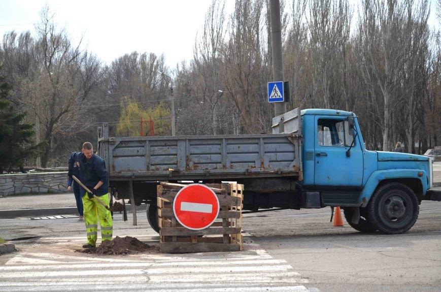 В Запорожье начался весенний ремонт дорог (ФОТО), фото-4