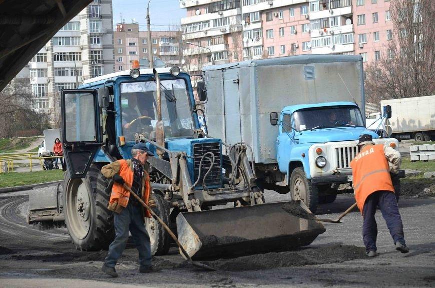 В Запорожье начался весенний ремонт дорог (ФОТО), фото-6