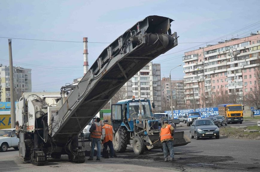 В Запорожье начался весенний ремонт дорог (ФОТО), фото-1