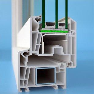 Компания «Оконика» представляет  конструкции изготовленные из  новой профильной системы  WHS-Halo 72. (фото) - фото 1