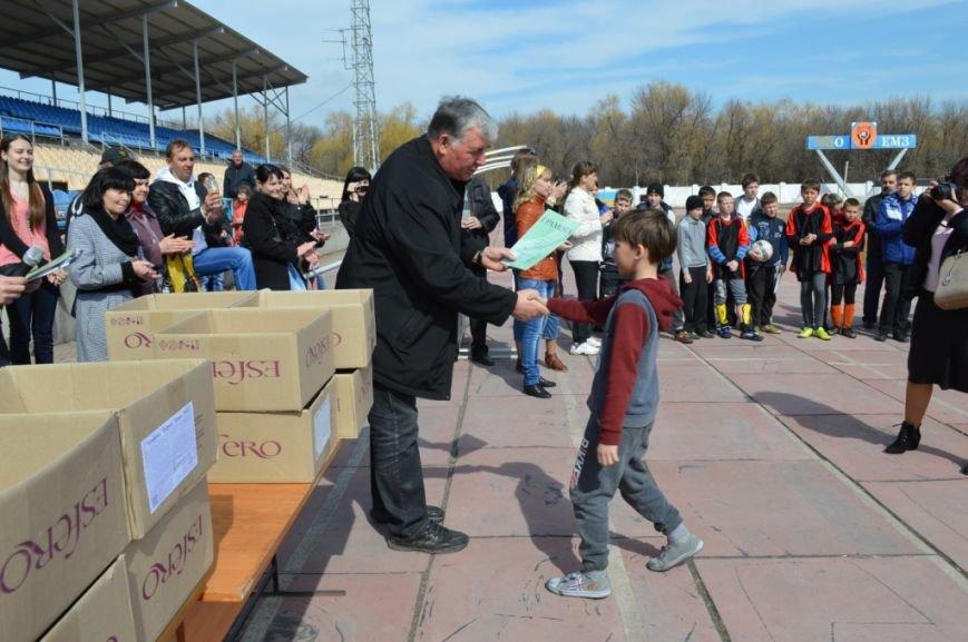 При поддержке металлургов в Енакиево состоялся турнир юных футболистов, фото-5