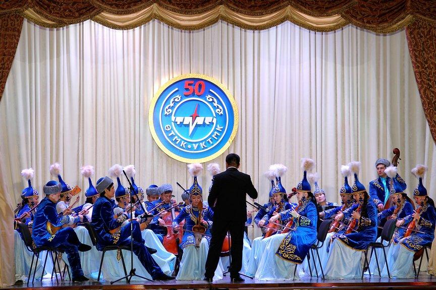 Концертное выступление на юбилее УК ТМК