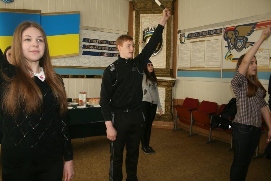 Сотрудники Бердянской ГАИ провели экскурсию для школьников, фото-2