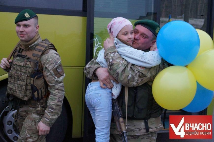 У Черкасах зустріли прикордонників з АТО (фото) - фото 4
