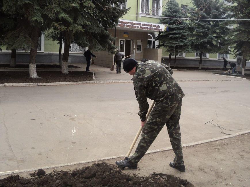 Краматорские правоохранители вышли на субботник (ФОТО), фото-3