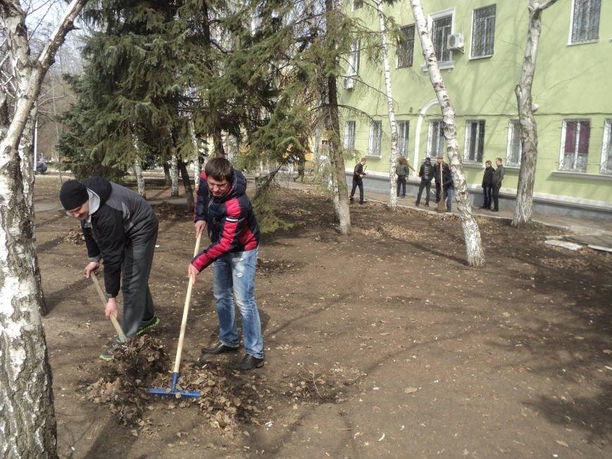 Краматорские правоохранители вышли на субботник (ФОТО), фото-4