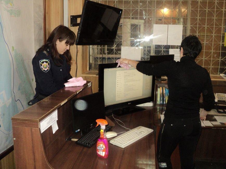 Краматорские правоохранители вышли на субботник (ФОТО), фото-2