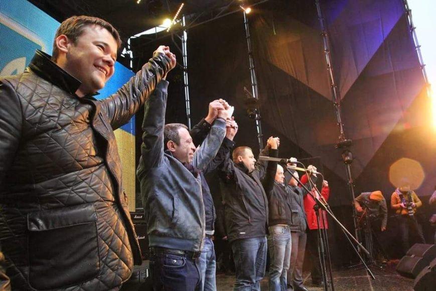 Вече в Днепропетровске: пели Руслана и Brutto.Коломойский не пришел (фото) - фото 1