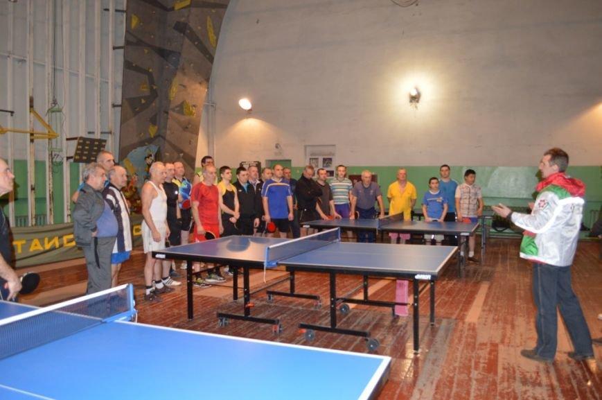Открытие турнира по настольному теннису, фото-1